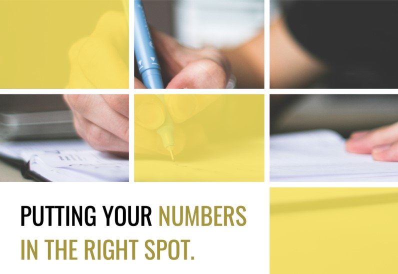 putting your numbers in the right spot bookkeeping compliance checklist cover image