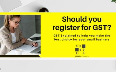 Should you register for GST?